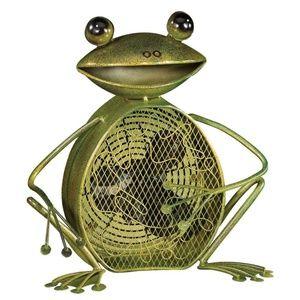 Deco Breeze Frog Figurine Fan